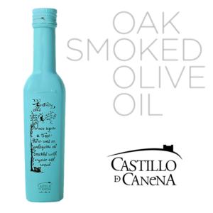 castillo de canena oak smoked olive oil