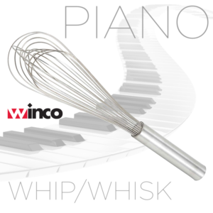 WINCO piano whip whisk