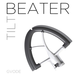 GVODE Beater/Scraper for KitchenAid Tilt Mixers