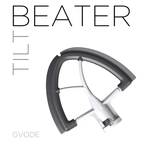 GVODE Beater/Scraper for KitchenAid Tilt Mixers